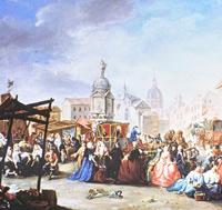 Manuel de la Cruz y Cano, La feria de Madrid en la Plaza de la Cebada